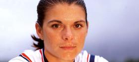 Soccer Hall of Famer Mia Hamm ::: Click to listen