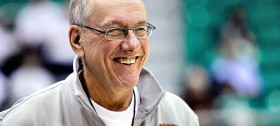 Syracuse Orange Coach Jim Boeheim ::: Click to listen
