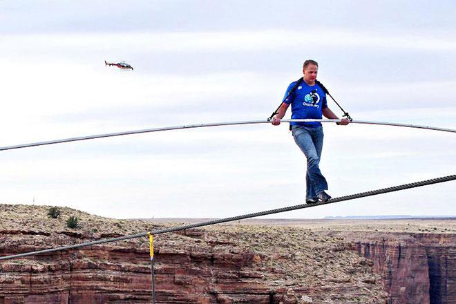 Stuntman Nik Wallenda ::: Click to listen
