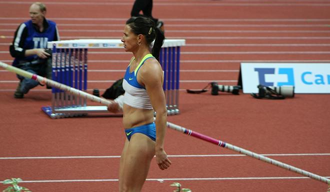 Pole Vaulter Extroidinaire Stacy Dragila ::: Click to listen