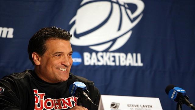 St. John's Head Coach Steve Lavin ::: Click to listen