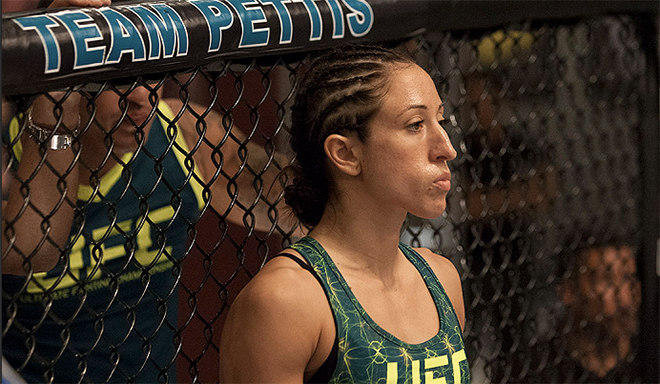 MMA Fighter Jessica Penne ::: Click to listen