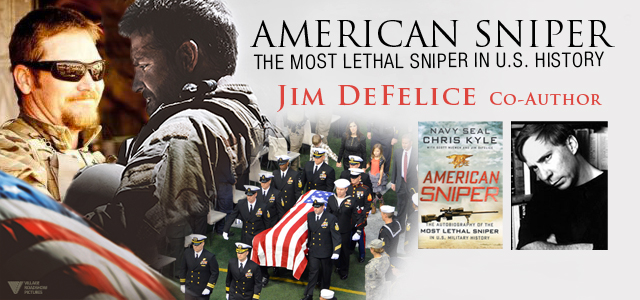 American Sniper Co-Author Jim Defelice ::: Click to listen