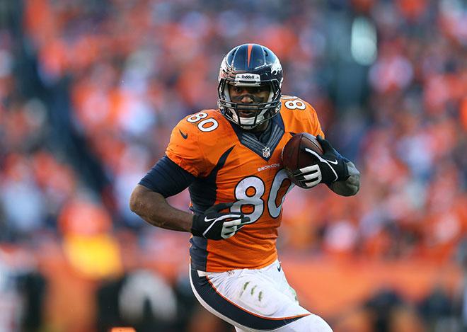 Denver Broncos All-Pro Tight End Julius Thomas ::: Click to listen
