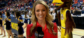 CBS Sports Reporter Allie Laforce ::: Click to listen