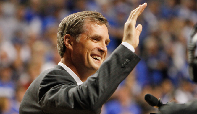 College Basketball Great Christian Laettner ::: Click to listen