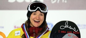 Olympic Champion Snowboarder Kelly Clark ::: Click to listen