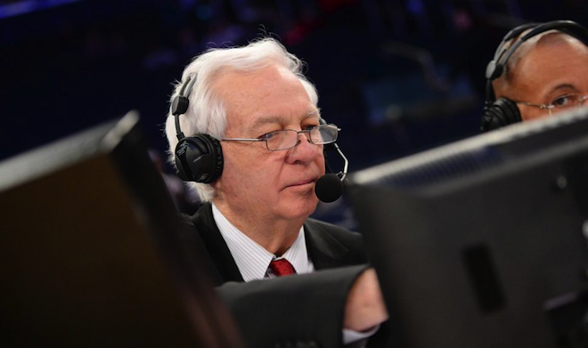 College Basketball Analyst Bill Raftery ::: Click to listen