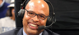 CBS Sports Analyst Clark Kellogg ::: Click to listen