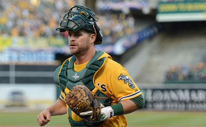 A's Starting Catcher Stephen Vogt ::: Click to listen