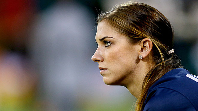 USA Soccer Star Alex Morgan ::: Click to listen