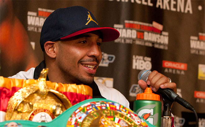 Super Middleweight Champion Andre Ward ::: Click to listen