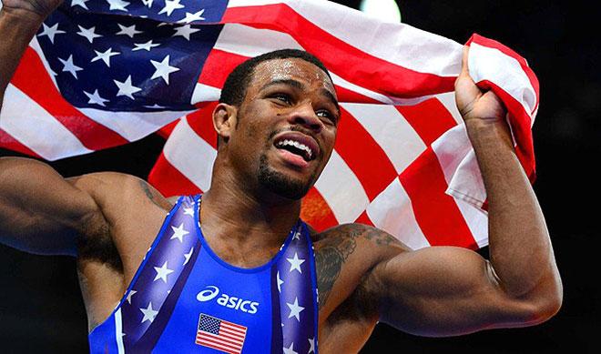 Olympic Champion Freestyle Wrestler Jordan Burroughs::: Click to listen
