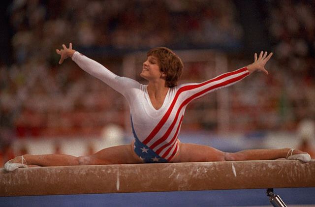 Regret, Mary lou retton join
